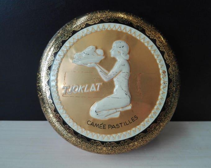 Tjoklat camee pastilles (Chocolate tin)