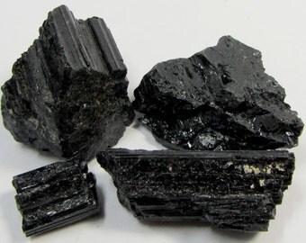 Black Tourmaline Crystal Essence Dosage Bottle w/Dropper