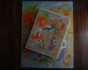 Whitman Jigsaw Puzzle ~ Walter Lantz's Woody Woodpecker ~ 1980 ~ Complete