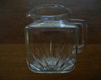 Federal Star and Fan ~ Small Pitcher
