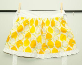 Children's lemon apron