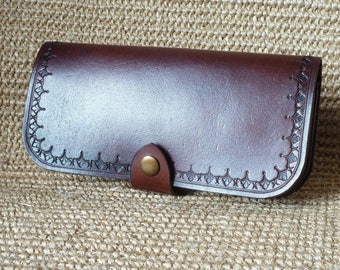 SCKLeather Handmade Buffalo Calf Purse/Wallet