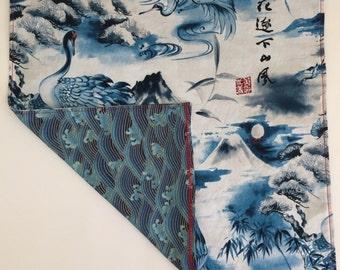 Asian Style Handkerchief - pocket square - edc - hanky - mens gift