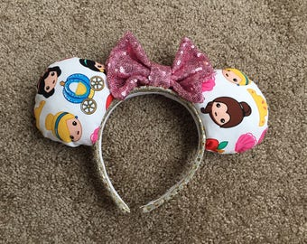 Disney Princess Emoji Minnie Mouse Ears