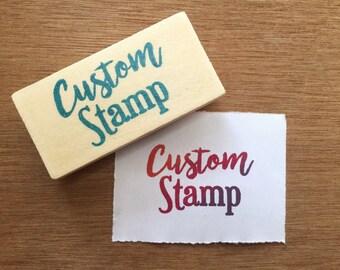 Custom stamp, custom rubber stamp, personalized stamp, custom stationery, custom logo stamp, customized polymer stamp, company stamp