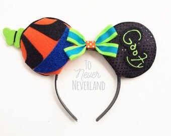 Goofy Ears, Goofy Mouse Ears, Mickey Ears Headband, Minnie Ears, Mickey Mouse Inspired Ears, Disney Inspired Mickey Ears PRE-ORDER