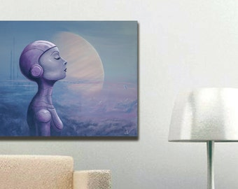 Tranquil Space limited edition canvas Giclee