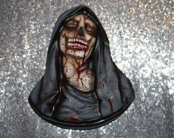 Walker Walking Dead Zombie Inspired Wall Hanging Mary