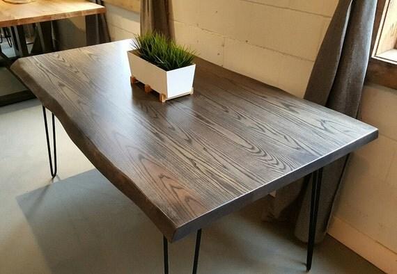 Live Edge Grey Ash Dining Table : il570xN1086780542srig from www.etsy.com size 570 x 394 jpeg 54kB