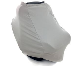 Baby Car Seat Cover - Taupe - Gender Neutral - Leisure Collection