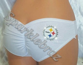 NFL shorts- Pittsburgh steelers lingerie- Pittsburgh steelers for women- Steelers panties-Pittsburgh Steelers -Lingerie