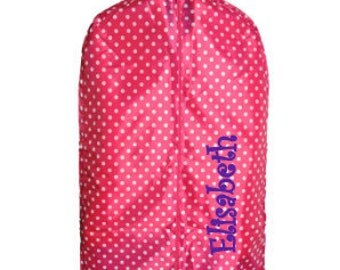 PERSONALIZED GARMENT BAG, Dancers garment bag, kids travel bag, girls travel bag, costume garment bag, tutu bag, dust cover, suit bag