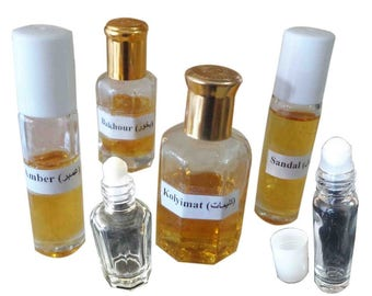 Pure Egyptian Amber Musk Oil Exclusive Original Perfume Oil Ambre Gris, Ambra, Ambar, амбра Imported From Egypt 3ml Roll on Bottle FREE SHIP