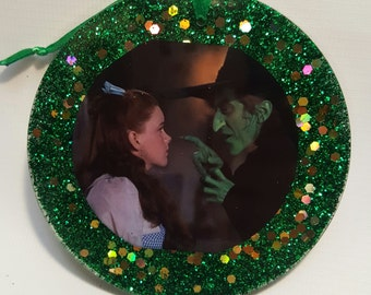 Dorothy & Wicked Witch Ornament