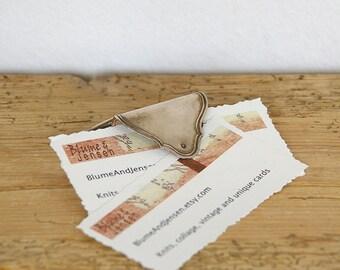 Vintage card holder silver plate.Office organizer.Desk organizer.30s decor desk.Card dispenser holder.decorative business card holder