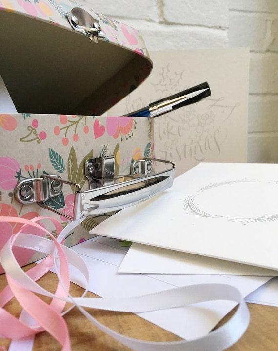 Kid s brush lettering calligraphy starter kit