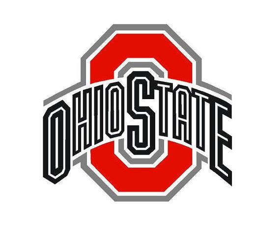 Ohio State Football Decal Car Decal Vinyl Decal NCAA College - College custom vinyl decals for car windows