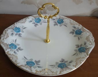 A Single Tier Vintage Cake Stand