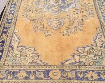 Vintage Rug,Cappadocia Carpet,Rugs,Vintage Turkish Rug,Home Office Rug,Designer Rug,Turkish Rug,Home Decor 8,85 ft x 6,23 ft 270cm x 190 cm