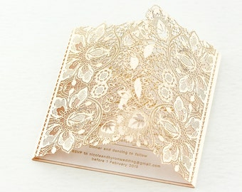 Glitz and Glam Invitation