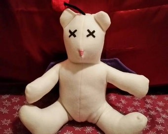 Final Fantasy Moogle Themed Teddy Bear