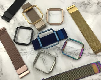 Milanese Loop Stainless Steel Mesh band for Fitbit Blaze