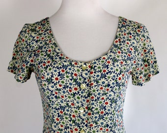 Esprit Floral Dress Size 3/4 Small