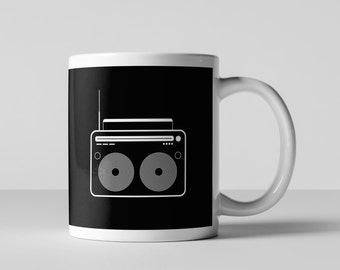 Vintage Radio Coffee Mug