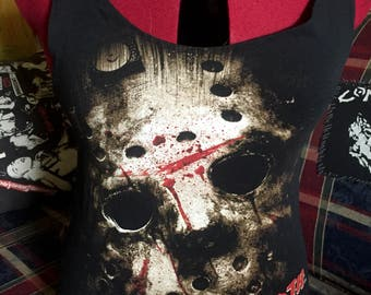 Friday the 13th Slasher tank top size M-L