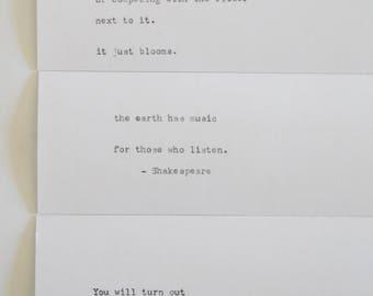 Bookmark Quote Set