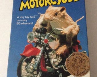Vintage 1991 The Mouse and the Motorcycle VHS Tape ABC Kidtime Movie Beverly Cleary