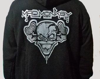 """Hoodie """"MAD MONKEY"""" man."""
