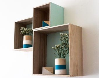 KIT DIY - Wooden - large storage boxes model