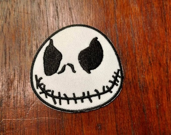 Jack Skellington embroidered patch