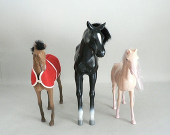 Childs Large Plastic Play Horse