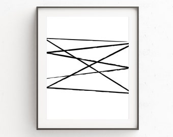 Brush Strokes, Abstract Art, Brush Strokes Print, Minimal Poster Print, Minimalist Poster, Wall Art Decor, Simple Poster, Best Sellers