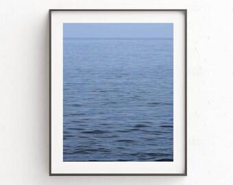 Ocean Print | Water Print | Ocean Photography | Summer