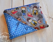 Supernatural Zippie - Zipper Pouch, Cosmetic Pouch, Coin Purse, Zipper Bag