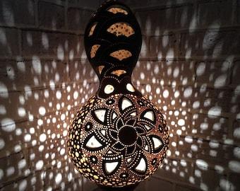 İllustration gourd lamp