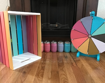 Prize Wheel and Crate Combo for Caitlin Omeara
