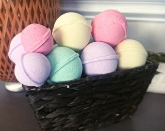 All Natural Bath Bombs & Shower Bombs