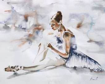 Ballerina VI GICLEE PRINT Various sizes available