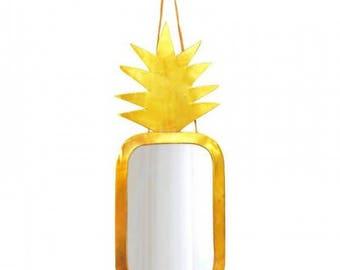 Mirror brass pineapple