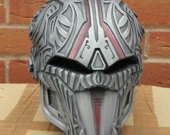 Sith Acolyte full Helmet Cold Cast Aluminium SWTOR