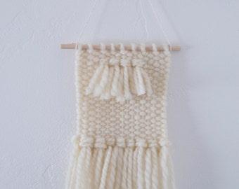 "Weaved Wall Hanging - ""Polar Bear"""