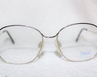 Vintage Womens Silvertone Charmant 4229 Eyeglass Frame, 52-16-135, NOS, New Old Stock, Item 3