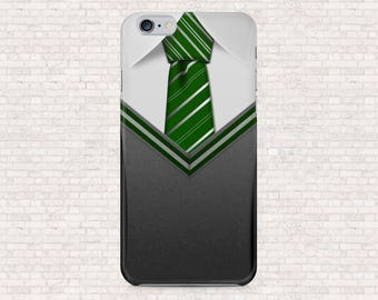 Harry Potter uniform Slytherin phone case - iPhone 6, iPhone 7, iPhone 7plus, iPhone 5, iPhone 6s, OnePlus 3T, Honor 7, Galaxy S6, Galaxy S5