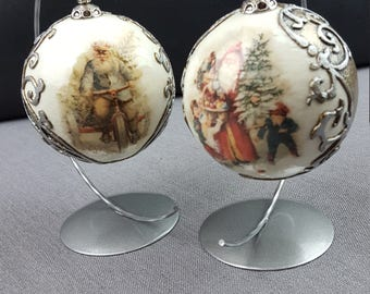 Vintage/Shabby Chic/ Christmas Ornament / Decoration / Bauble