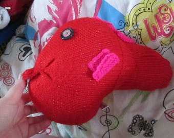 Glittery Red Giant Fish