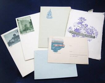 Postal set,Letter,retro, decor, gift, collectible, Soviet Union, Ukraine, Russia, USSR